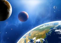 美丽的星球和浩瀚的宇宙图片_18张