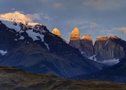 秀丽的山峰山顶风景图片_11张