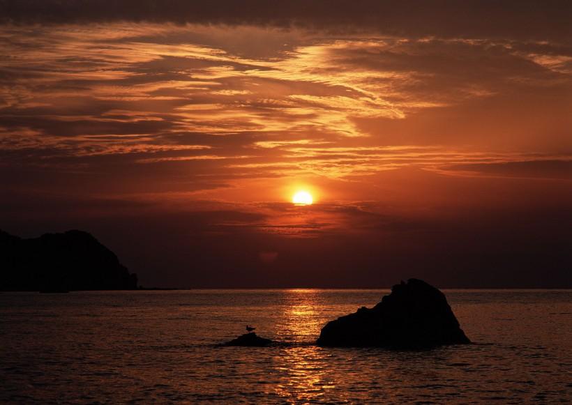夕陽圖片_53張