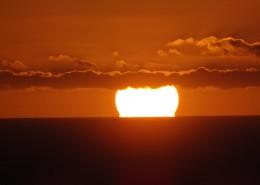 景色秀美的夕陽圖片_10張