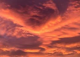 夕陽圖片_12張