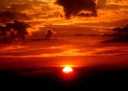 美麗的夕陽風景圖片_14張
