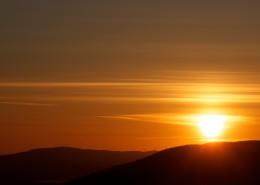美麗的夕陽風景圖片_12張