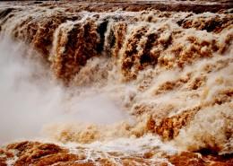 氣勢磅礴的黃河風景圖片_8張