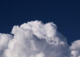 洁白的云朵图片_13张