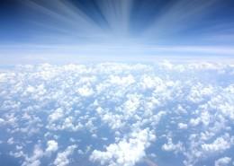 天空中的云朵图片_15张
