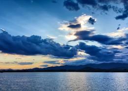蓝色云海图片_6张