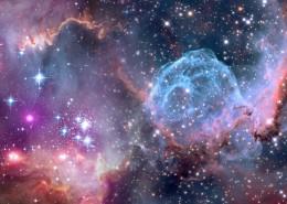 宇宙中的星云圖片_14張