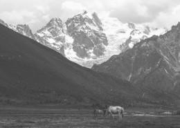 壯觀的雪山美景圖片_17張