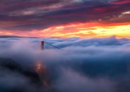壮观的云海图片_10张