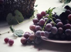 一组超唯美森系的葡萄图片欣赏