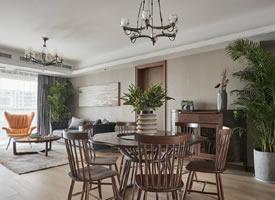 115㎡混搭风格家居装修,简约舒适的原木空间,特别自然