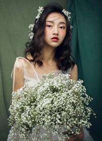 让每一个新娘的发型美出自己的特质