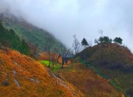 陜南漢中,云上草壩的鄉村美景圖片