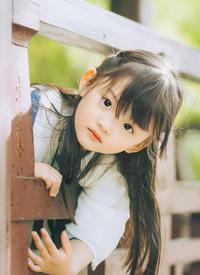 一组唯美可爱的小女孩拍摄图片欣赏