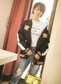 杨紫短发外型时髦写真高清图片