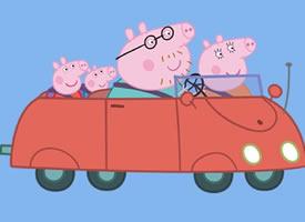 一组可爱的小猪佩奇高清图片欣赏