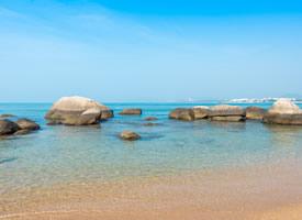 一组海南三亚海边风景图片欣赏