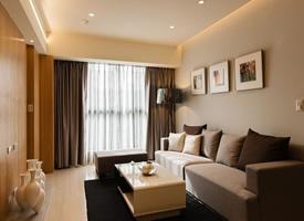 59平两室两厅装修效果图,暖暖的幸福