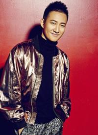 王阳酷帅有型时尚写真图片