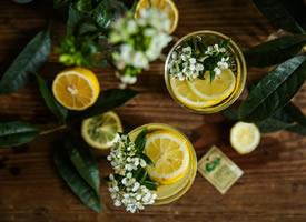 一组超唯美浪漫的柠檬拍摄图片