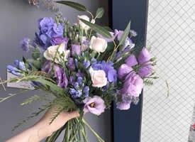 为准新娘们预备的仙气捧花图片