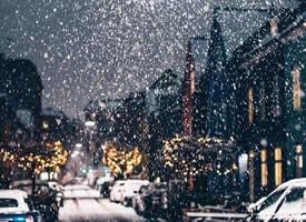 哥本哈根的雪夜 吹落身上雪,一身都是月