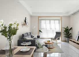 三居室原木装修效果图 清新自然