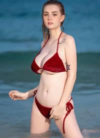 泰国爱尔兰的混血麻豆 Jessie Vard