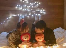 情侣们学习一下圣诞节如何秀恩爱