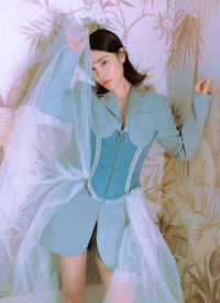 韩丹彤时尚性感高清写真