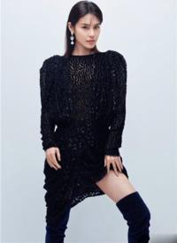 韩丹彤摩登时尚高清写真图片