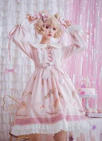cos超可爱的粉红圣诞洋娃娃图片欣赏