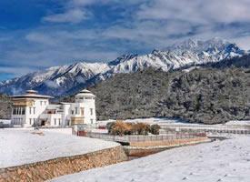 西藏这处地方的冬天 才是最美的世外桃源