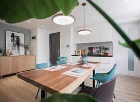 79平清新两居室 舒适的美家