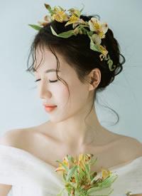 森系风格,自然而不失灵动新娘发型