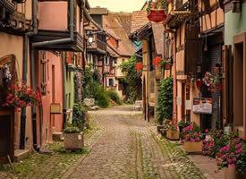 一组超好看的唯美小镇图片欣赏