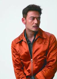 杨烁魅力熟男时尚杂志封面高清图片