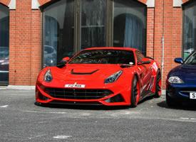 法拉利Ferrari Novitec Rosso F12 N-Largo