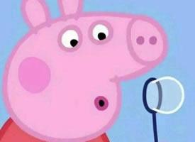 一组超可爱的小猪佩奇专用情侣头像