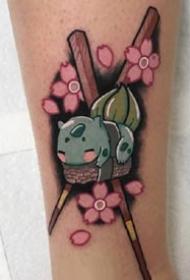超等心爱的一组奇异珍宝纹身图片