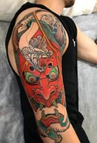 18张黑色的老传统纹身图案观赏