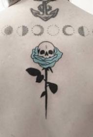 极简风格的9张小清新纹身图片