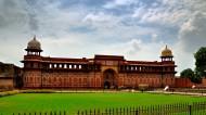 印度阿格拉红堡风景图片_11张