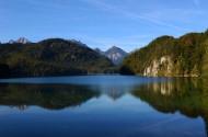 德国阿尔卑斯山湖群风景图片_7张