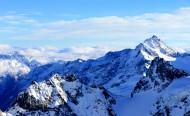 瑞士阿爾卑斯山風景圖片_7張