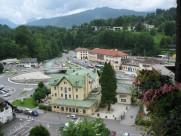 阿尔卑斯山山中小镇风景图片_20张