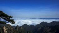 安徽黃山云海風景圖片_9張