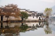 安徽黟县宏村图片_98张