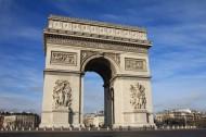 法国巴黎凯旋门图片_13张